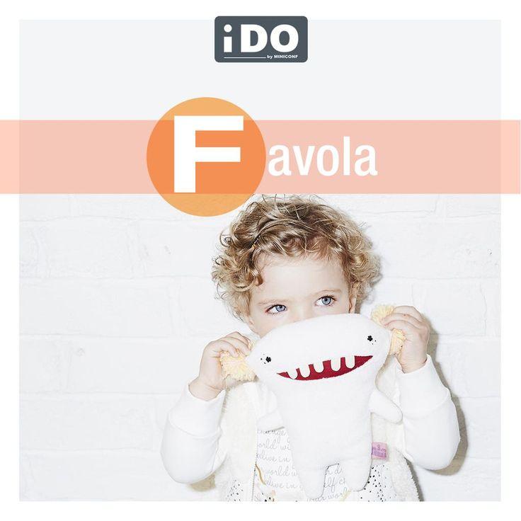 """""""F"""" come Favola! Qual è la preferita dei vostri bambini?? #alfabetodeibambini"""