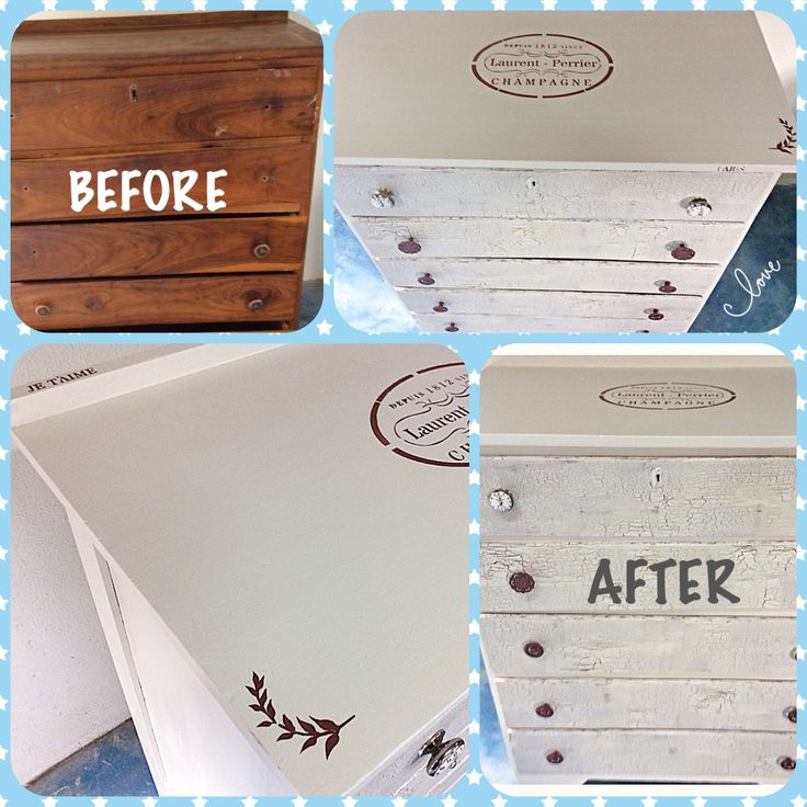 Petite Rouge chalk paint, Dual at Dawn used on this makeover,  and  stencil work with Antoinette's Kiss, also some crackle work on the drawers. Another project from Shabby-2-Chic
