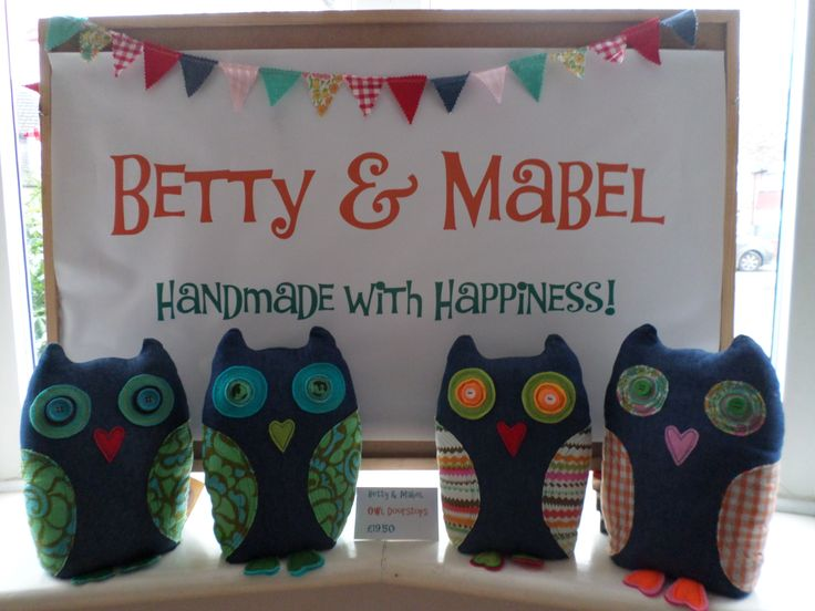 Homemade owls in need of homes!