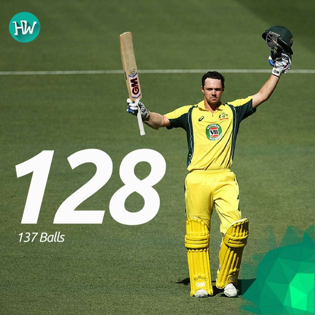 Travis Head hit his maiden ODI century and was involved in a record-breaking partnership with Warner. #AUSvPAK #AUS #PAK #cricket