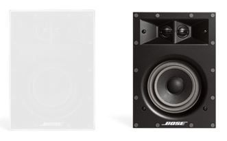 """Bose 5"""" Virtually Invisible® In-Wall Speakers-White-691 In-Wall Speaker"""