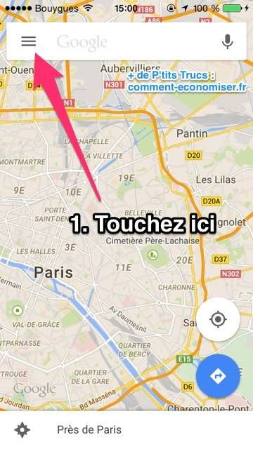 Enfin une Astuce Pour Utiliser Google Maps SANS Connexion sur iPhone et Android.