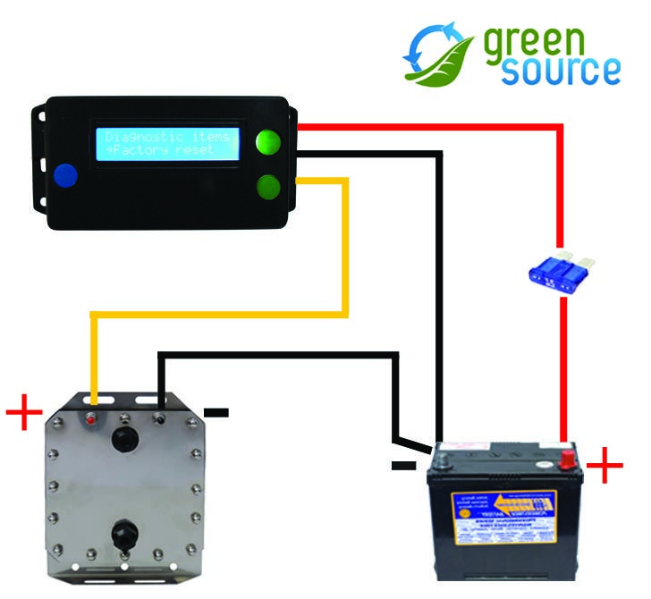 Wiring Diagram Hydrogen Generator : Wiring of a hydrogen generator through protuner