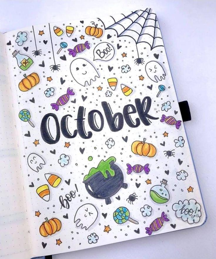 Halloween Doodles By Ig Christina77star Cute Halloween
