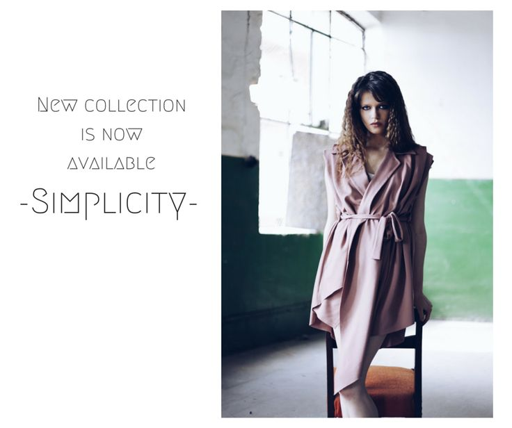 New collection Simplicity on www.theitem.co Photo Simona Naciadis MUA: Ioana Oprea Hair Petru Lagoda Model: Marta Marghidanu MRA Agency