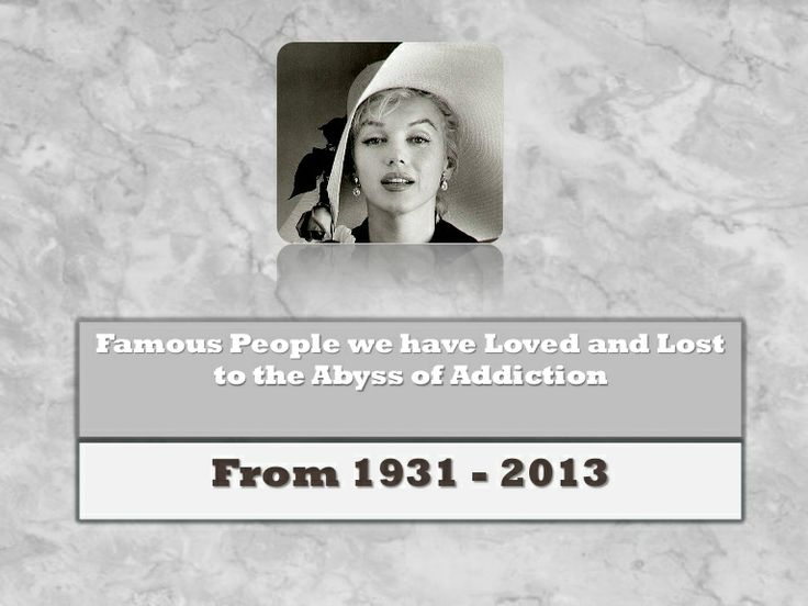 The Popularity of Celebrity Addiction Treatment