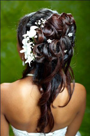 Half Updo Hairstyles For Bridesmaids | hairstyle description bridal half updo hairstyle by absolute beauty ...