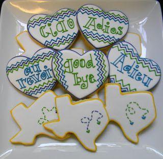 Sweet Melissa's Cookies: Going Away Cookies: Part One