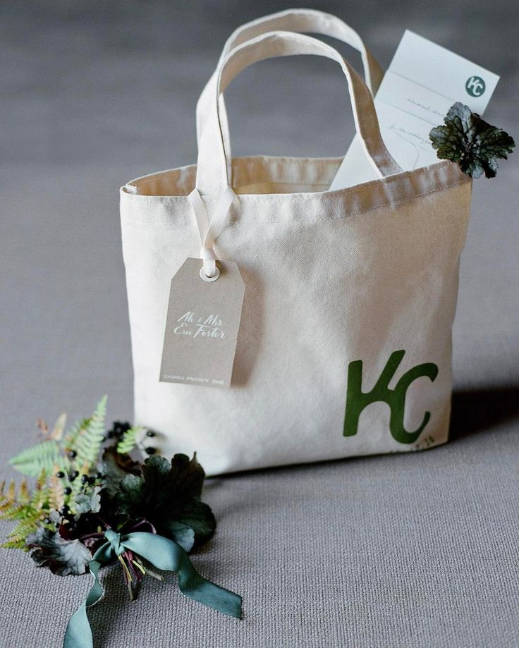 Laurie Arons: Welcome gift tote bags filled with local treats, waters, hangover remedies