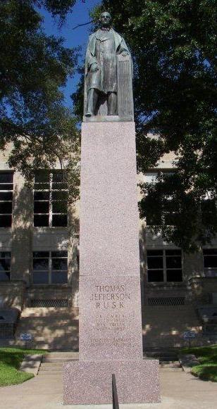 Henderson TX - Thomas Jefferson Rusk Statue