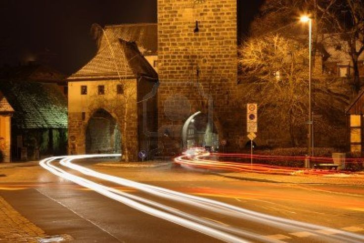 Nürnberg Tür in Neustadt Aisch Bayern Stockfoto - 12442249
