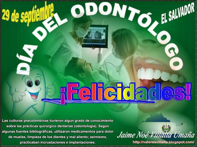 Valores morales y cívicos: Día del odontólogo