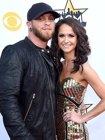 Brantley Gilbert and his wife Amber Cochran