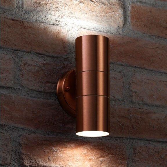 Auraglow Up Down Outdoor Wall Light Winchester Copper Wall Lights Outdoor Sconces Outdoor Sconce Lighting
