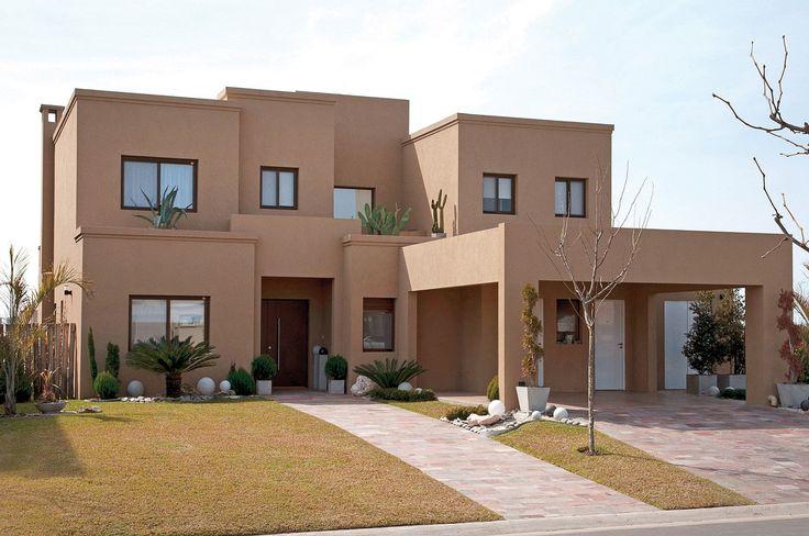 Fredi Llosa y Arquinova Casas - Casa actual estilo racionalista - PortaldeArquitectos.com