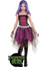 Girls Monster High Spectra costume