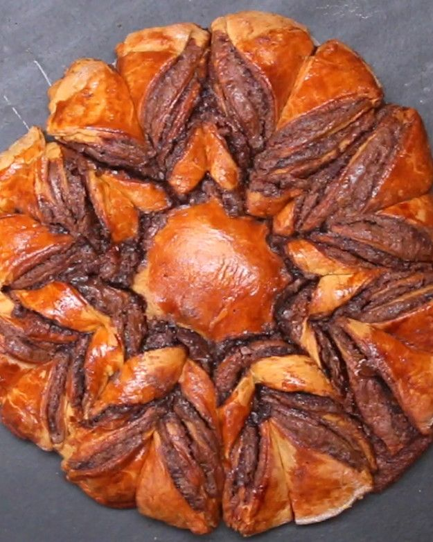 Chocolate Star Bread   This Chocolate Star Bread Is Literally Heaven On A Plate