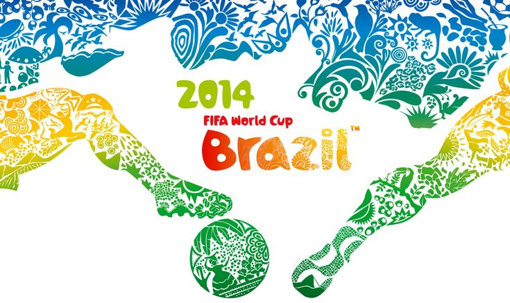 FIFA World Cup 2014 Wallpaper Brazil On this banner, it hardly Looks like the World Cup is about FOOTball, more than about fighting, kicking, grabbing or even biting. Pitty to see that fairness is rare these days.