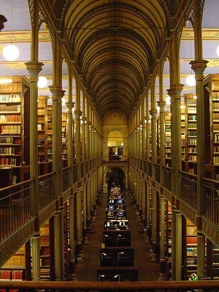 Copenhagen University Library, Denmark, is one of the 10 ...