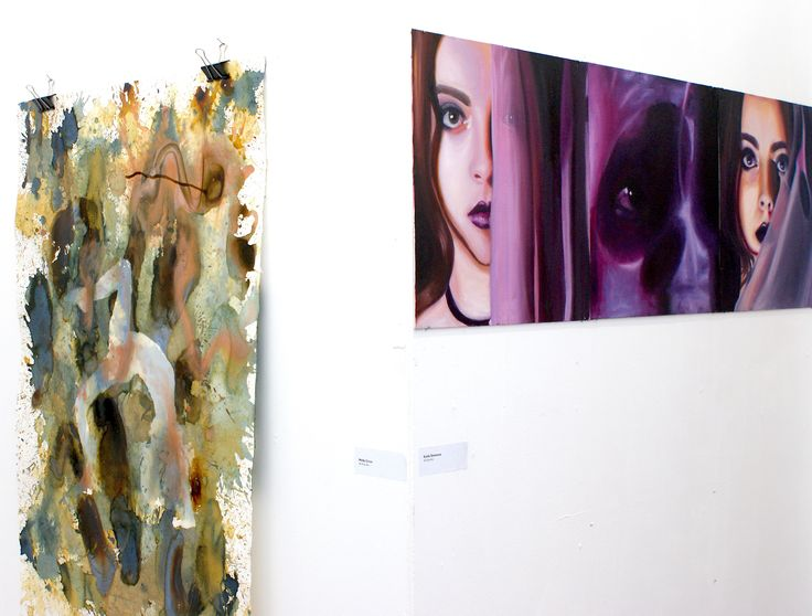 Truro College A2 Art Coursework Show 2017