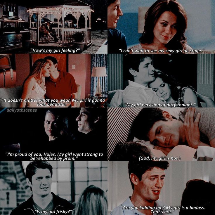 """434 Likes, 6 Comments - One Tree Hill (@dailyothscenes) on Instagram: """"nate my boy saying my girl to hales """""""