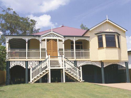 17 best images about australian queenslanders on pinterest for Classic queenslander house
