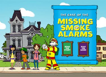Sparky the Fire Dog and his friends set out to solve a mystery in The Case of the Missing Smoke Alarms, a new free app that teaches kids fire-safety skills in a way that's both educational and fun. With a compelling new story, standards-aligned materials for math and English Language Arts, loads of tappable animations and even a high-flying game, this app will bring laughter and learning to your classroom or home.