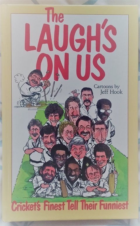 The Laugh'S On Us - Cricket Book