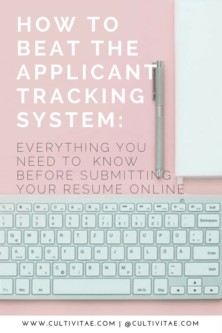Applying for an online job? Then check out this guide to beat the Applicant Tracking System. Be sure to read this before submitting your resume anywhere online.