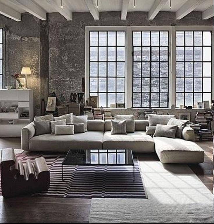 i like the multiple rugs