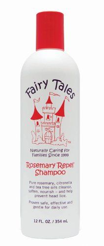 cool Fairy Tales Repel Shampoo, Rosemary, 12 Fluid Ounce