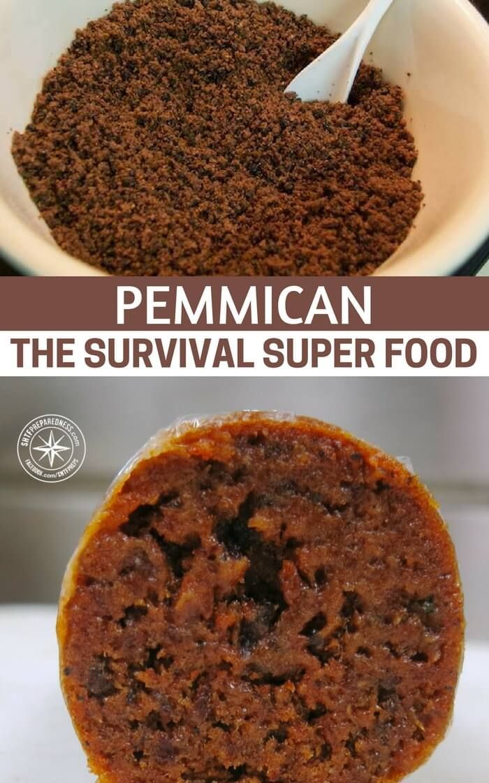Pemmican – The Survival Super Food — When it comes to survival food, pemmican is on top of the list and for good reason. This survival food stood the test of time, it's easy to prepare and it will last for a long time, without the need of refrigeration. #survival #survivalfood #preparedness #prepper #prepping