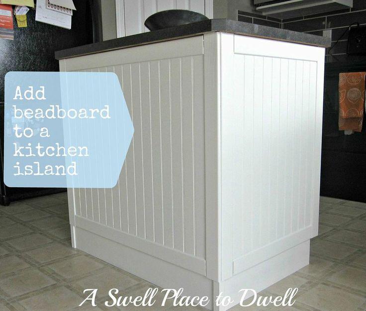 Adding Beadboard To A Kitchen Island