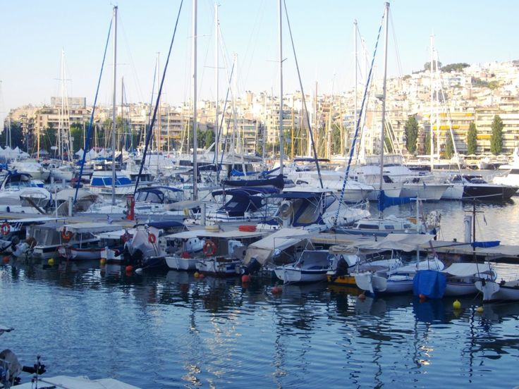 Marina for Yachts & Cruisers at Pashalimani, Peiraias, Greece