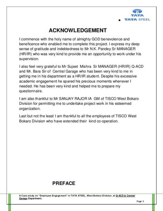 employee engagement mba project report 2018 2019 studychacha News