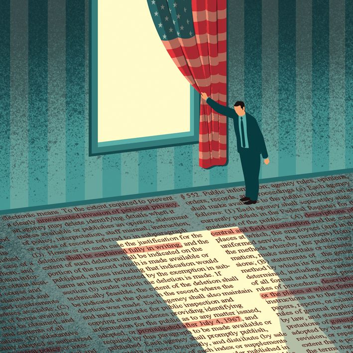 DAVIDE BONAZZI ILLUSTRATION: FREEDOM OF INFORMATION
