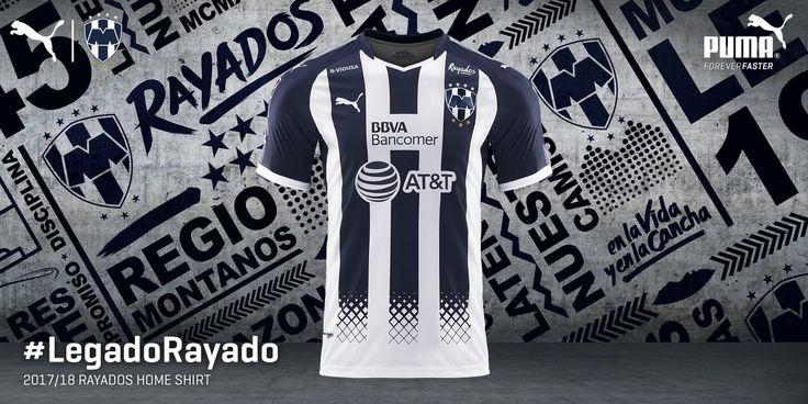 The new Puma Rayados Monterrey 2017-2018 jerseys introduce outstanding designs.