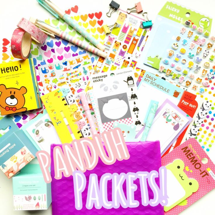 Introducing Panduh Packets! These surprise packets are filled with fun Paper Panduh goodies! Sometimes I buy too many items to fill my planner kits or have onesie items that I didn't have quite enough to make a kit with! You'll even get random items that are listed from my shop (even the pens!) Who knows its a surprise!You will receive 4-6 items per Panduh Packet. Retail value $20-$25.