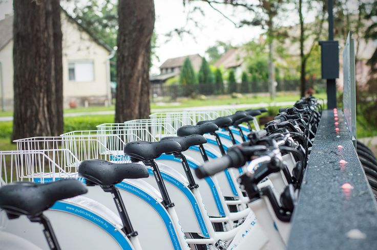 Electric Public Bike Rental System - Vejti station