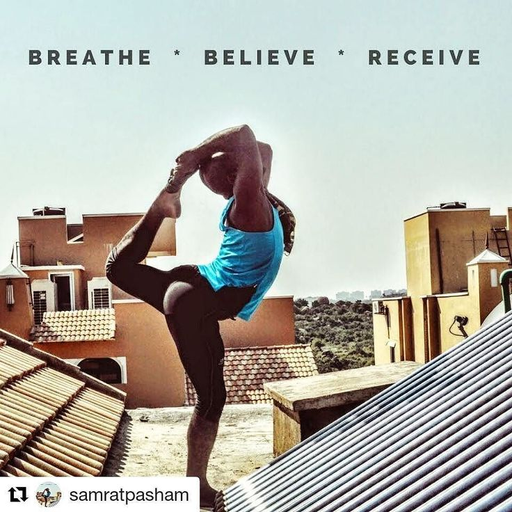 "Flexibility game super strong  #LoveYourSweat with @samratpasham... Share your journey with us for a chance to win some awesome goodies. Hit the link in our bio for more info! __________________________________ ""Breathe Believe Receive  . . . ( Something @annanyoga said - thank you for that - it just hit home today ) "" __________________________________  #FitNut #Yoga #Flexibility"
