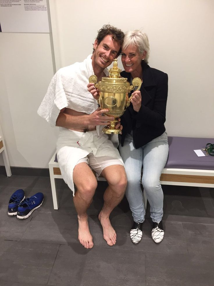 Number 2! Andy & Judy Murray, Wimbledon 2016