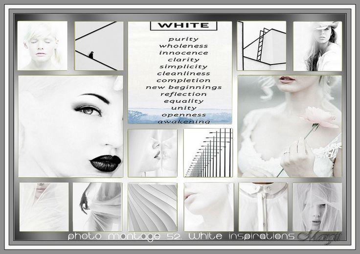 Photo montage 52. white inspirations