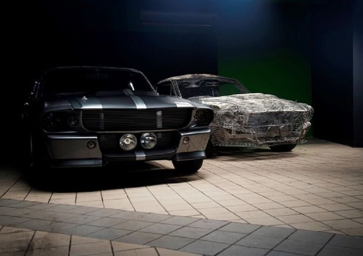 South African Man Hand Builds Replica Of 1967 Ford Mustang