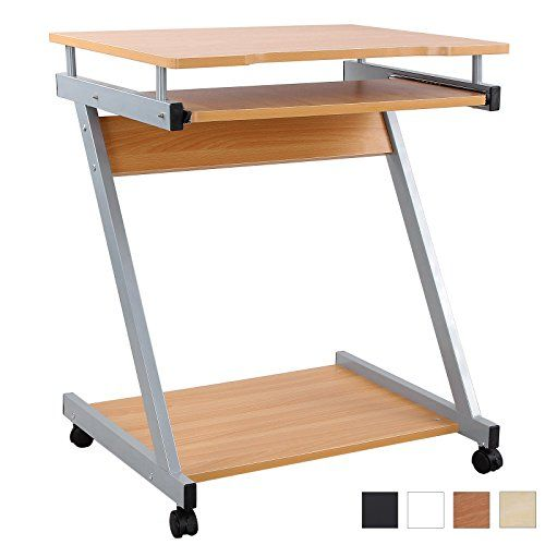 Songmics bureau informatique table informatique meuble de bureau pour ordin - Table pour pc de bureau ...