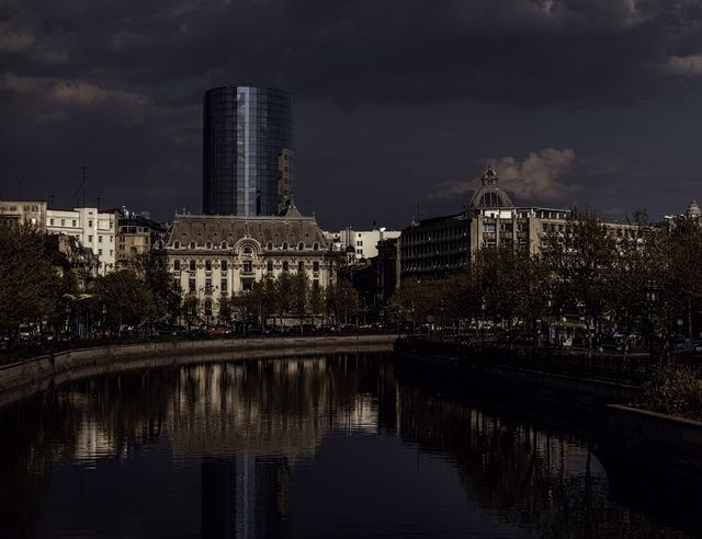 'Bucharest by night' taken by vio0orel on April 18th 2017, 10:59:48 am
