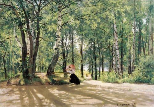 At the Summer Cottage - Ivan Shishkin