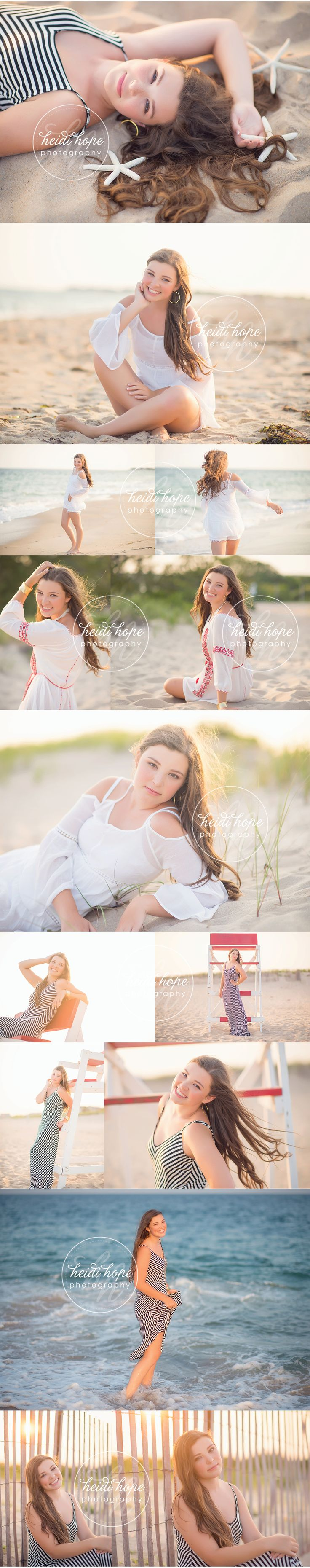 Senior Session, Beach Edition!  #seniorsession #beachedition #seniorportraits