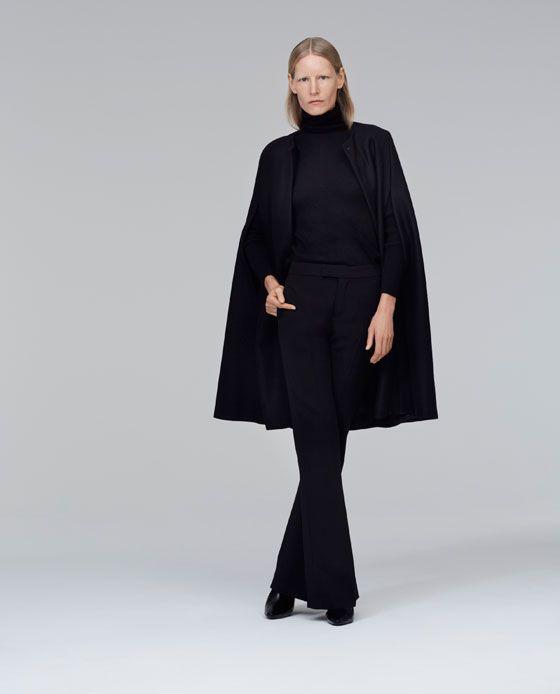 ZARA - WOMAN - LONG CLOTH CAPE