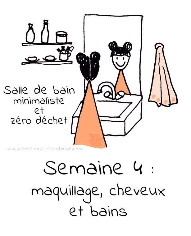 Minimalisme dans la salle de bain – semaine 4