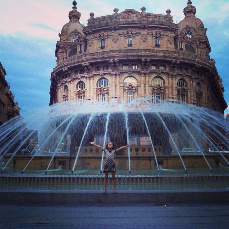 Площадь Феррари  #genoa #piazza #amazing #fun #child #travel #picoftheday #photooftheday #Lovemile #instagood